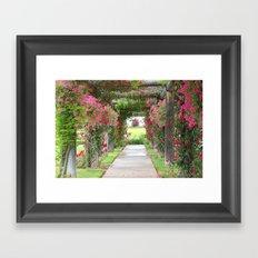 Enjoy the view Framed Art Print