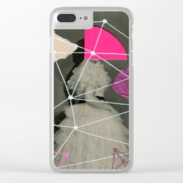 Klingonian Prom Clear iPhone Case