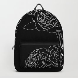 rose bouquet Backpack
