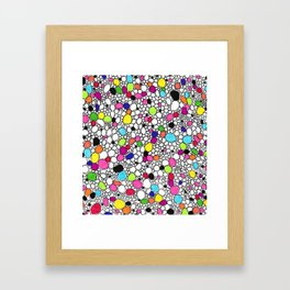 Circles and Other Shapes and colors Framed Art Print