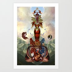 ADAM KADMON II Art Print