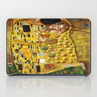 gustav klimt iPad Cases featuring My Klimt by Müge Başak