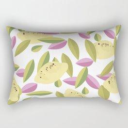 Vintage Lemons Rectangular Pillow
