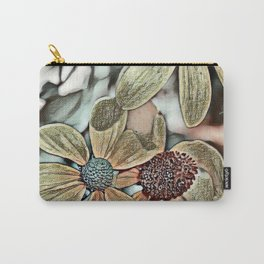 Toony World Floral 1 Carry-All Pouch