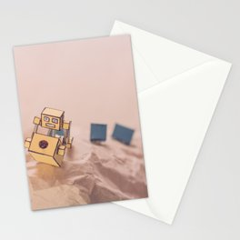 Robot and His Head 2 Stationery Cards