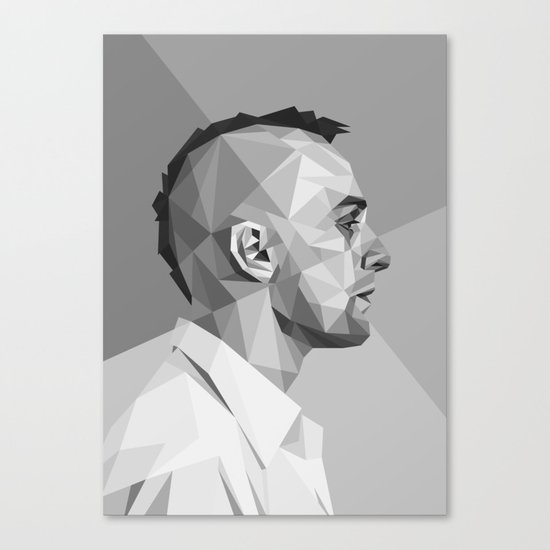 Travis Bickle Canvas Print