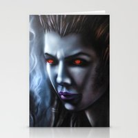 starcraft Stationery Cards featuring Kerrigan  by Kanelov