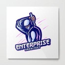 Enterprise Architect expert Metal Print
