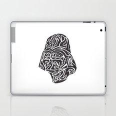 Darth Vader [Black on White] Laptop & iPad Skin