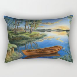 Pine lake Rectangular Pillow