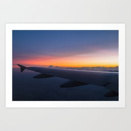 From My Window Seat Art Print