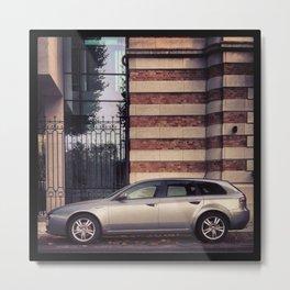 Alfa Romeo 156 Metal Print