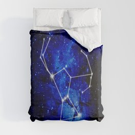 Orion Constellation Star Map Comforters
