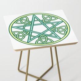 Celtic Pentacle Side Table