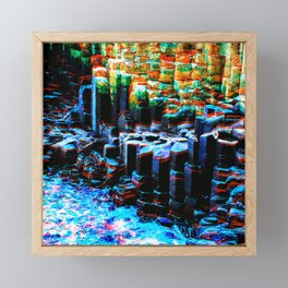 Giant's Causeway Framed Mini Art Print
