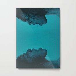 The Drowning Metal Print