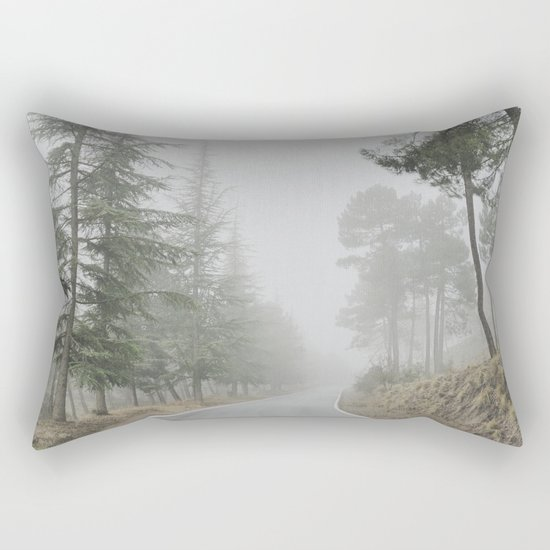 """Into the woods"" Come in..... Rectangular Pillow"