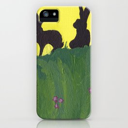 Young Peter Rabbit - Panel 3 iPhone Case