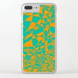 arcs, abstract 3.3 Clear iPhone Case
