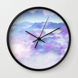 Dreaming landscape Wall Clock