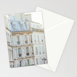 Montmartre Sunrise - Paris France Travel Photography Stationery Cards