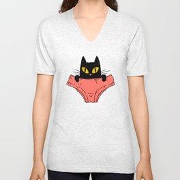 Pussycat Unisex V-Neck