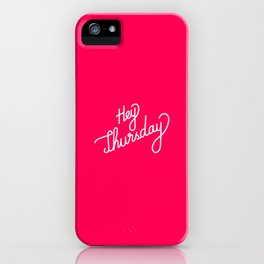 Hey Thursday   [gradient] iPhone Case