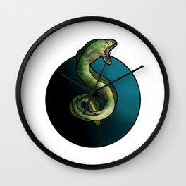 Moray Eel Wall Clock