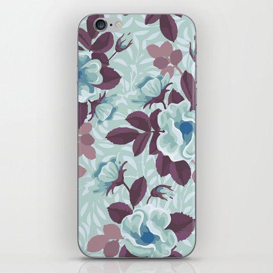 Retro Floral Pattern iPhone & iPod Skin