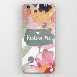 RESTORE ME iPhone Skin