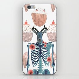 living in a world of food iPhone Skin