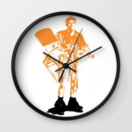 Jerk Wall Clock