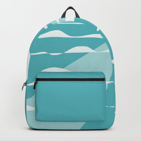 Ocean View with Full Moon Backpack