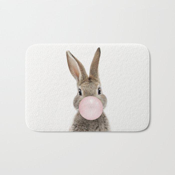 Bubble Gum Bunny Badematte