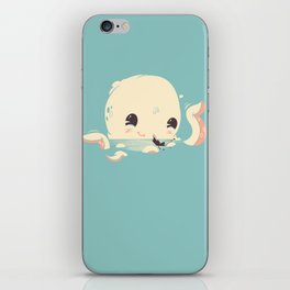 Adorable Octopus Battle iPhone Skin