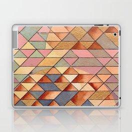 Triangles Circles Golden Sun Laptop & iPad Skin