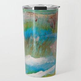 Alberta Spring Landscape / Dennis Weber of ShreddyStudio Travel Mug