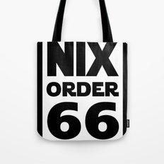Nix Order 66 Tote Bag