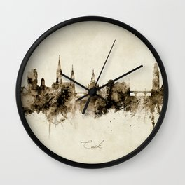 Cork Ireland Skyline Wall Clock