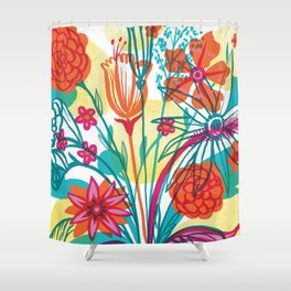 G.D.Flowers: Some More Flowers, Geez! Shower Curtain