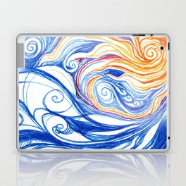 Winter Storm Laptop & iPad Skin
