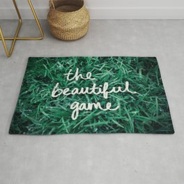 The Beautiful Game Rug