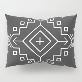 Geometric Mandala Pillow Sham