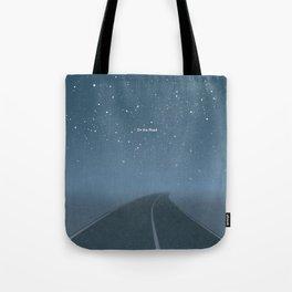 "Jack Kerouac ""On the Road"" - Minimalist literary art design, bookish gift Tote Bag"
