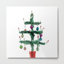 Pure X-Mas Tree Metal Print