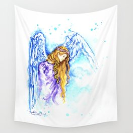 Angel Spirit Guide Wall Tapestry