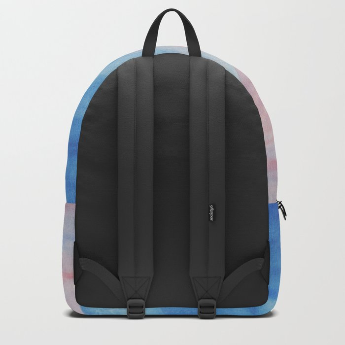 Pastel vibes watercolor 02 Backpack