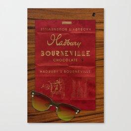 Hadbury Bourneville Wrapper  Canvas Print