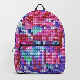 Carnation Cross Stitch Backpack
