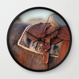 Saddle Wall Clock